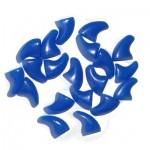 nagelkapjes blauw