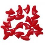 nagelkapjes rood